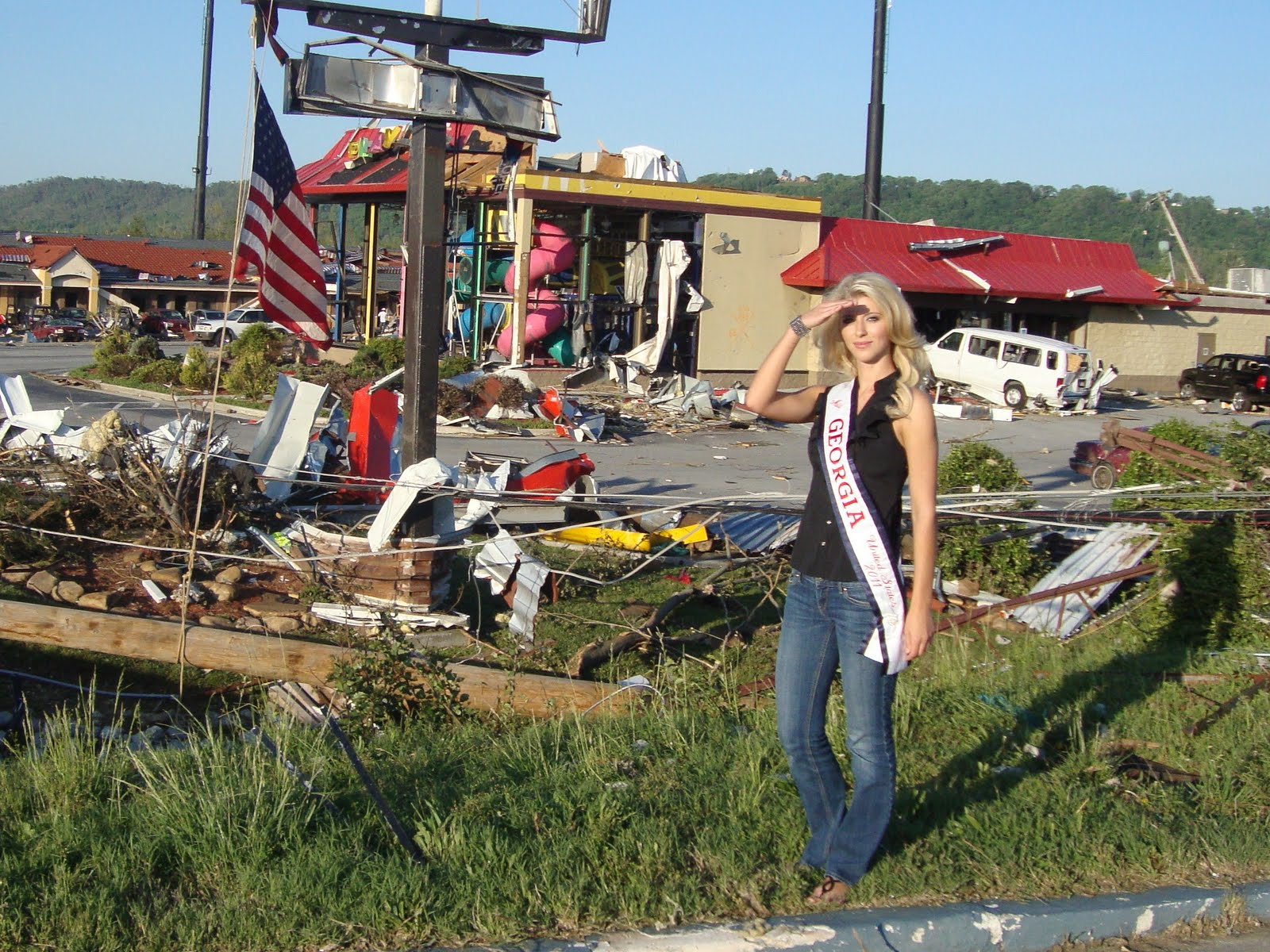 Ringgold (GA) United States  city pictures gallery : Miss Georgia United States 2011: Tornado Disaster Ringgold, GA My ...