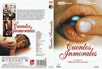 Carátula dvd: Cuentos inmorales (1974) (Contes immoraux)