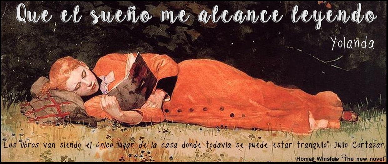 Que el sueño me alcance leyendo