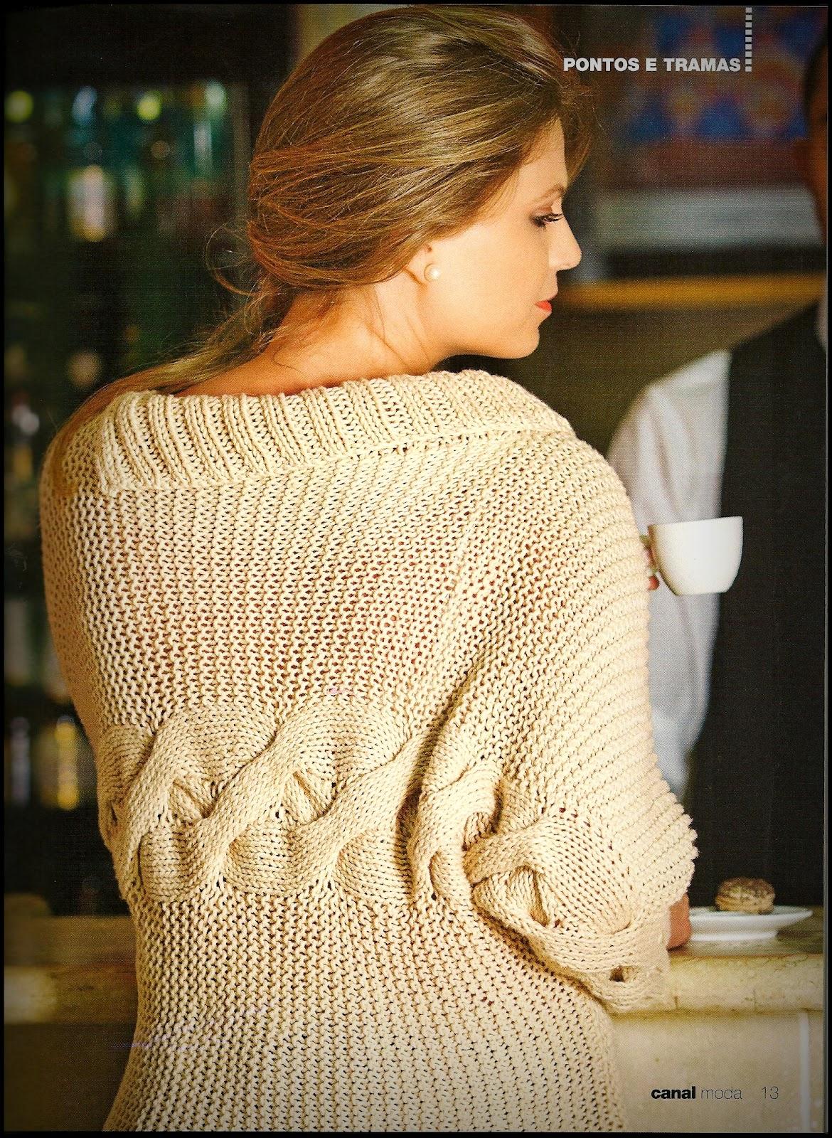 Жакет спицами для девочки, поперечное вязание 13