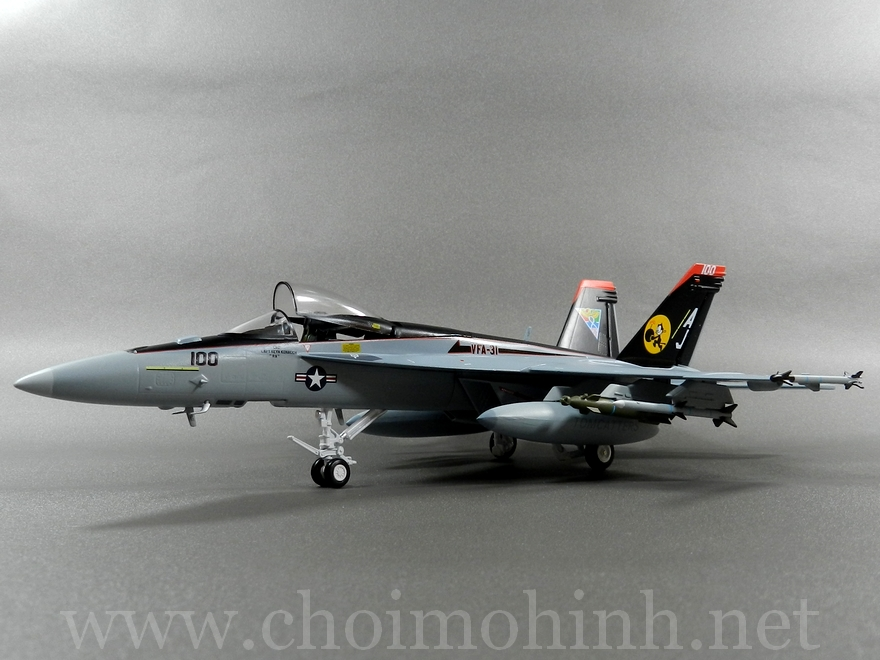 F-18E Super Hornet US Navy 1:72 Witty Wings side