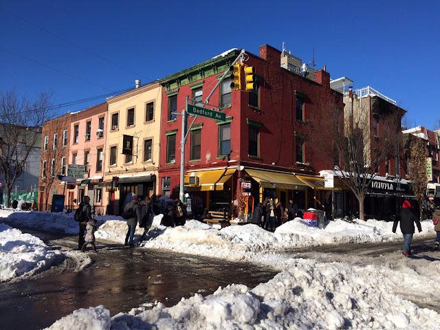 Snowzilla, New York - © Clara - D'une pomme à l'autre