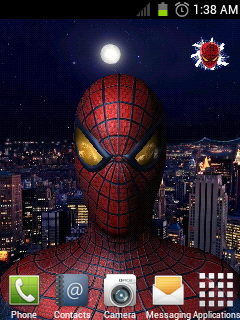 The Amazing Spider-Man 3D live Wallpaper