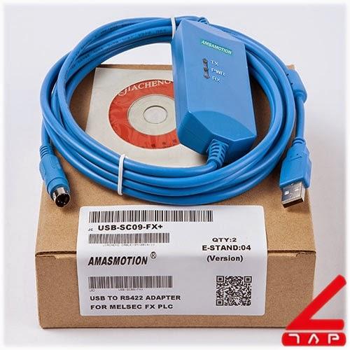 Cáp lập trình USB-SC09 FX+