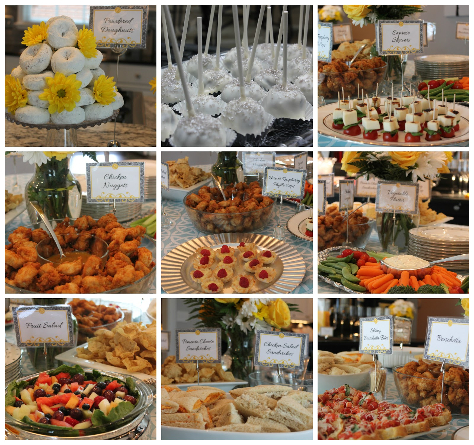 baby shower ideas on a budget on baby shower finger food ideas on a