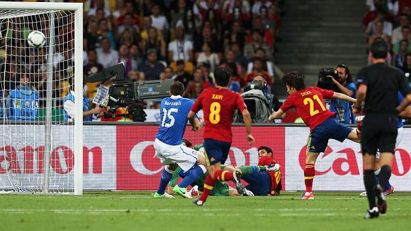 Final Euro 2012 Spanyol vs Italia