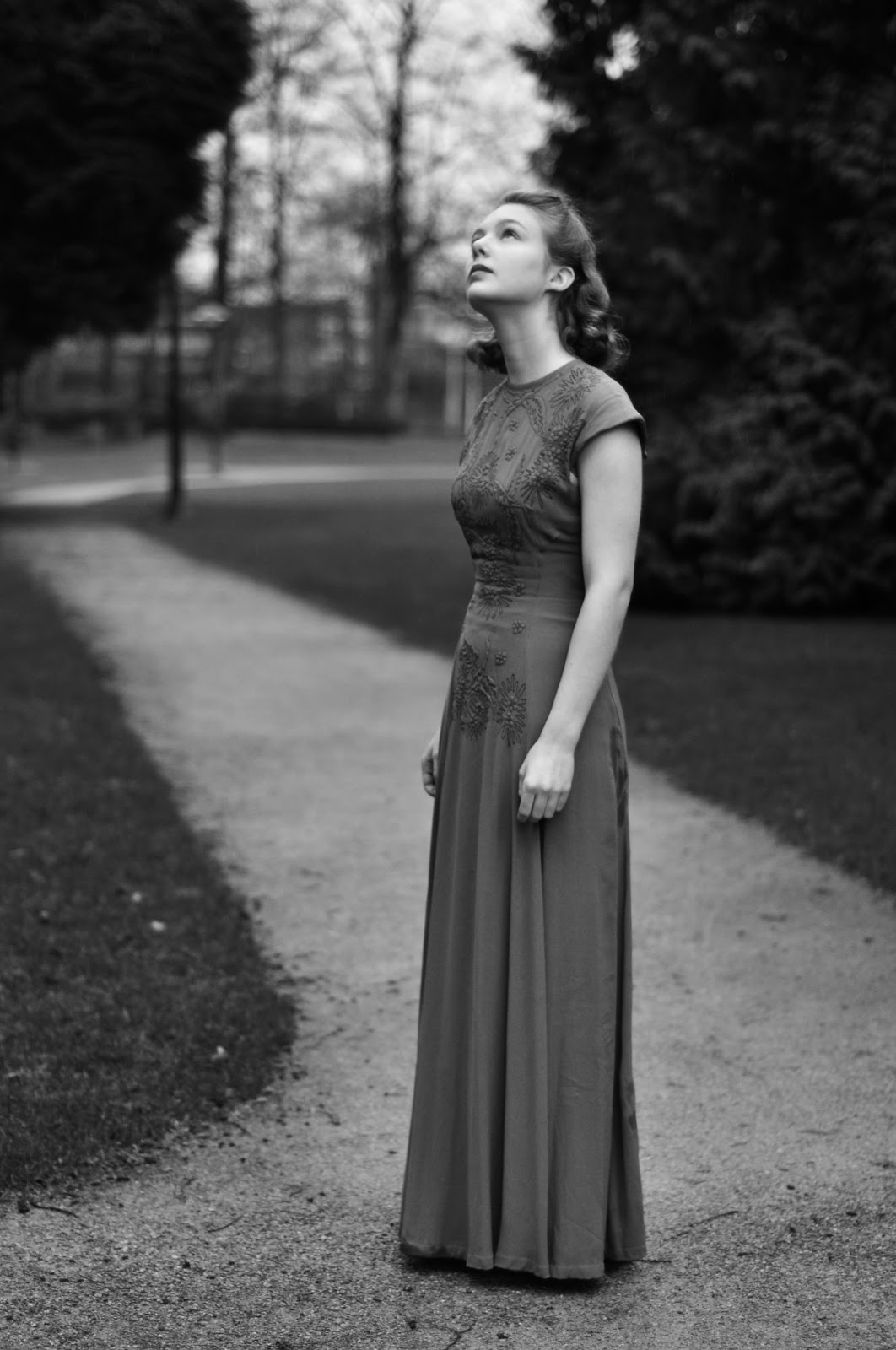 Old-fashioned at heart: Photoshoot with Yesim Yilanci