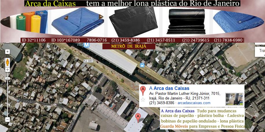 Lona no Rio de Janeiro !!! A Arca das Caixas tem a melhor LONA