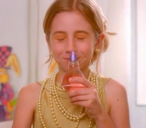 Propaganda do perfume Ma Chérie do O Boticário. Apresentado em 1998 com foco nas meninas.