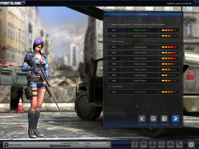 Cheat PB 22 Januari 2012 : Full Hack , AIM Datar , 1 hit + AMMO