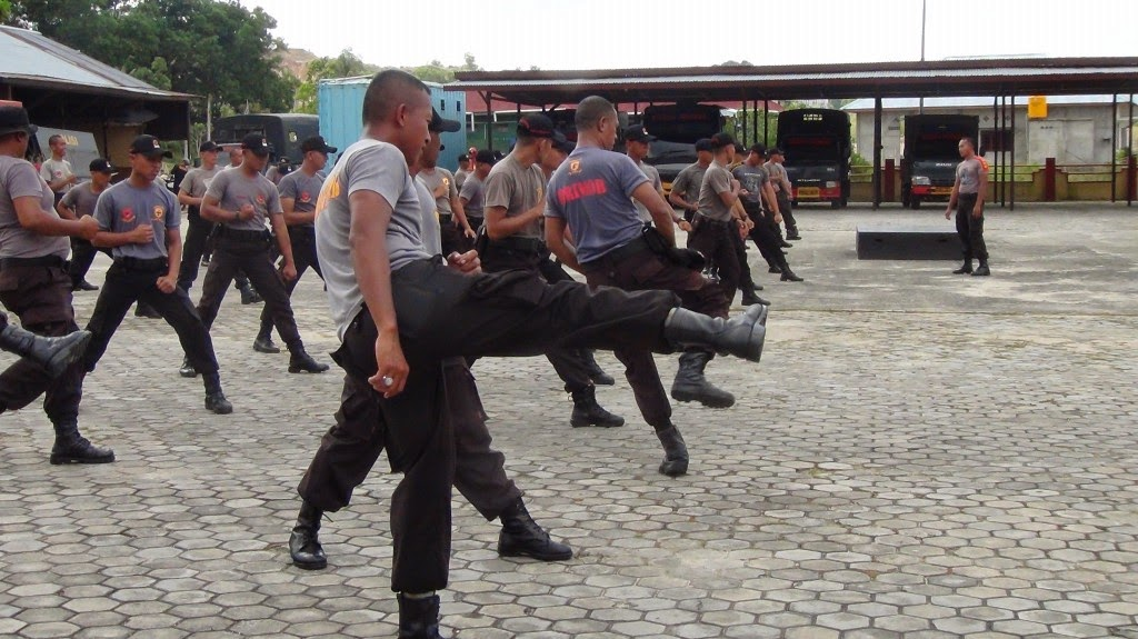 Pelopor Pelaksanaan Latihan Beladiri Merpati Putih Bulan April 2015