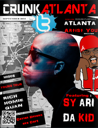 Crunkatlanta Magazine- Atlanta Edition- Artist You Should Know