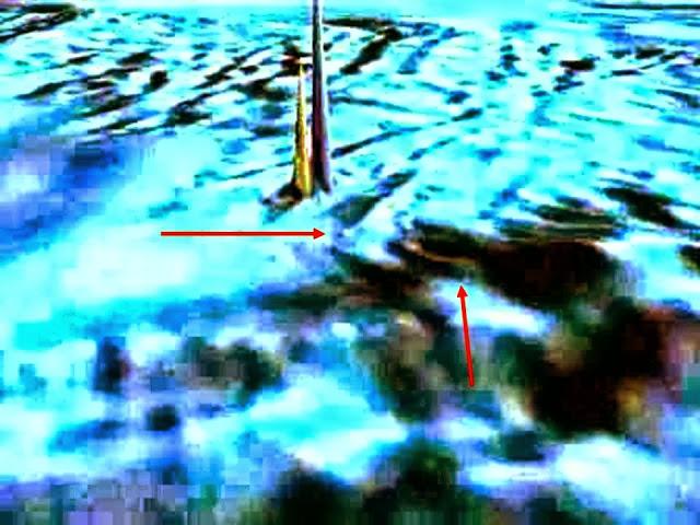 Huge Underwater Obelisks and entrance Hollow Earth? 6