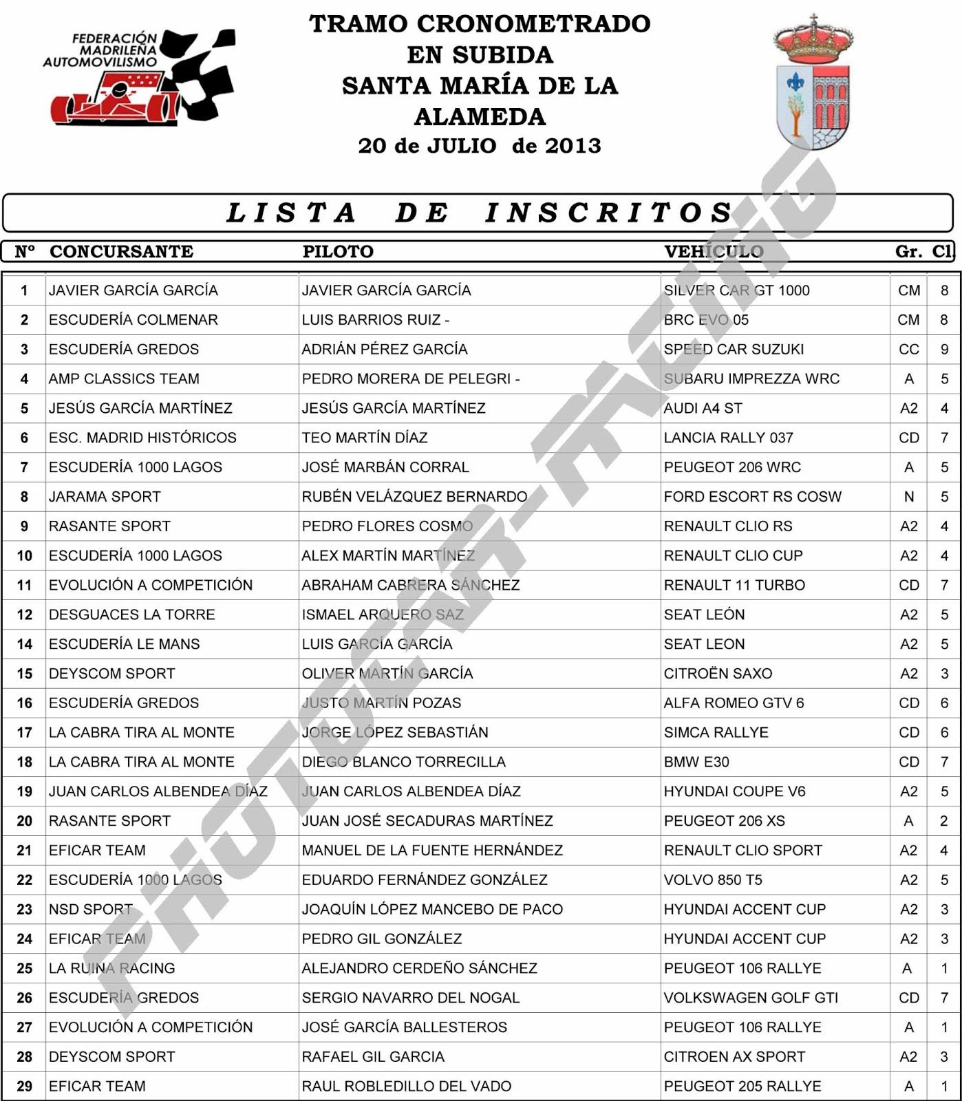 Lista De Inscritos Al Examenes De Ascenso | News Of The Worlds