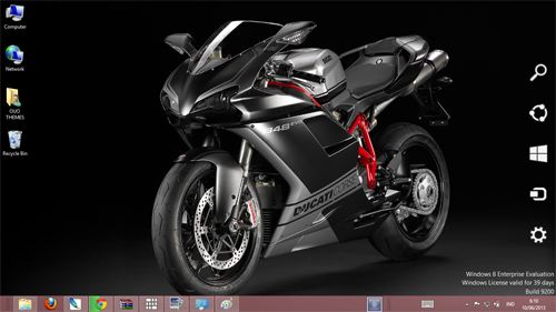 Ducati SBK 848 Evo Couse Theme For Windows 7 And 8