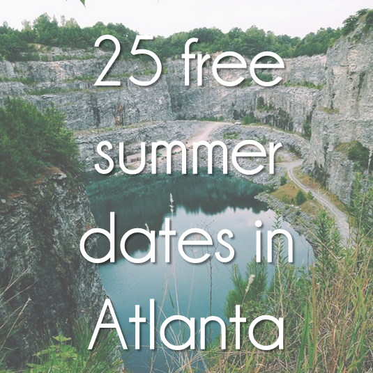 free things to do in atlanta in the summer