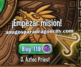 imagen de la tercera parte de la isla azteca de dragon city