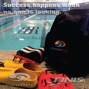 Finis and Blue Seventy