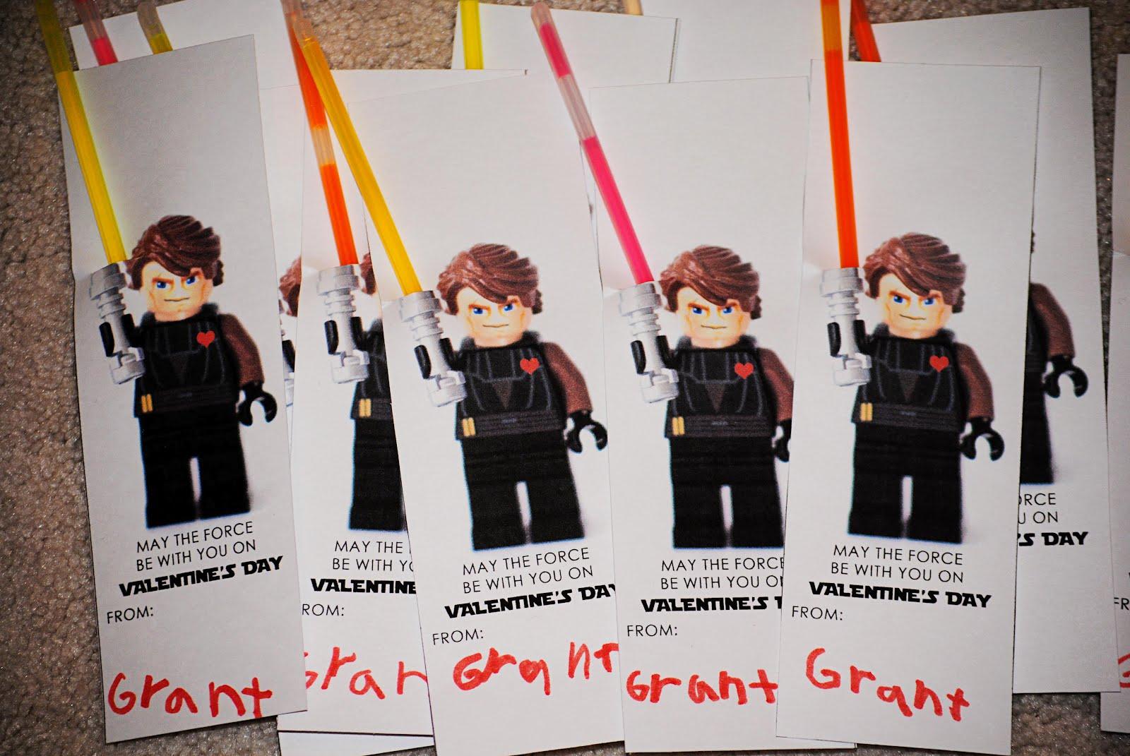valentines day lego man light sabor cards - Valentines For Kindergarten Class