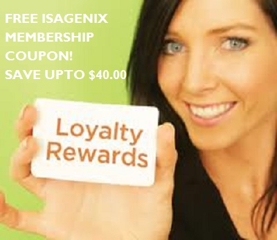 Isagenix coupon code