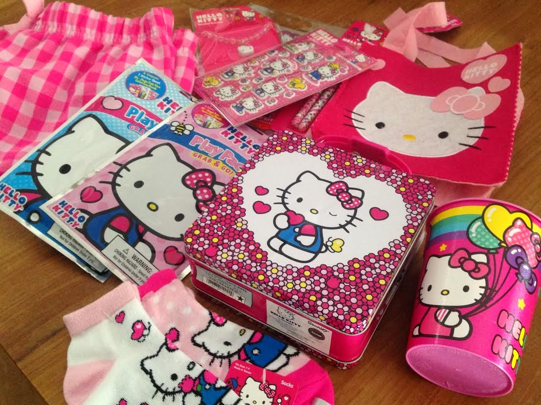 Hot pink Hello Kitty 40th birthday gifts