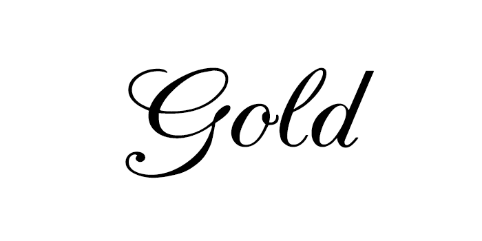 efek teks emas