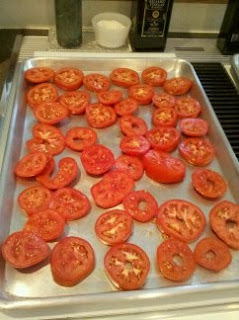 Roasted Tuscan Tomatoes