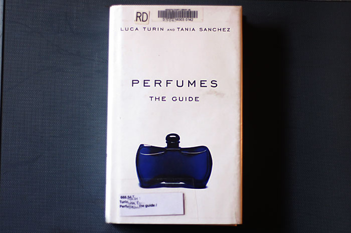 the perfume guide book