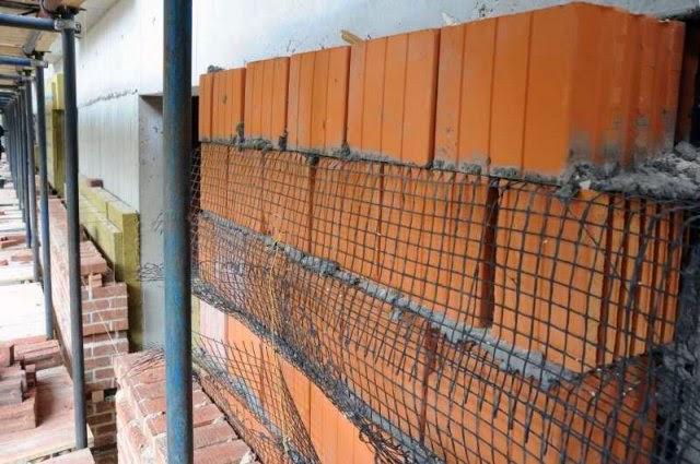 Сетка кладочная базальтовая для промышленно-гражданского строительства
