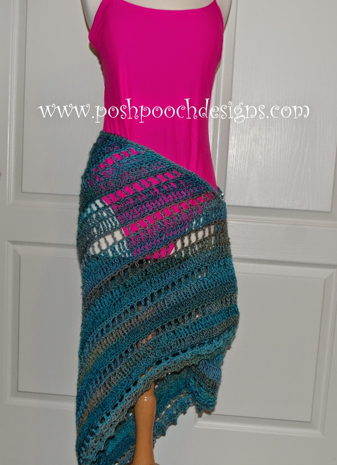 Free Crochet Pattern For Beach Wrap : Posh Pooch Designs Dog Clothes: Beach Vacation Shawl Free ...