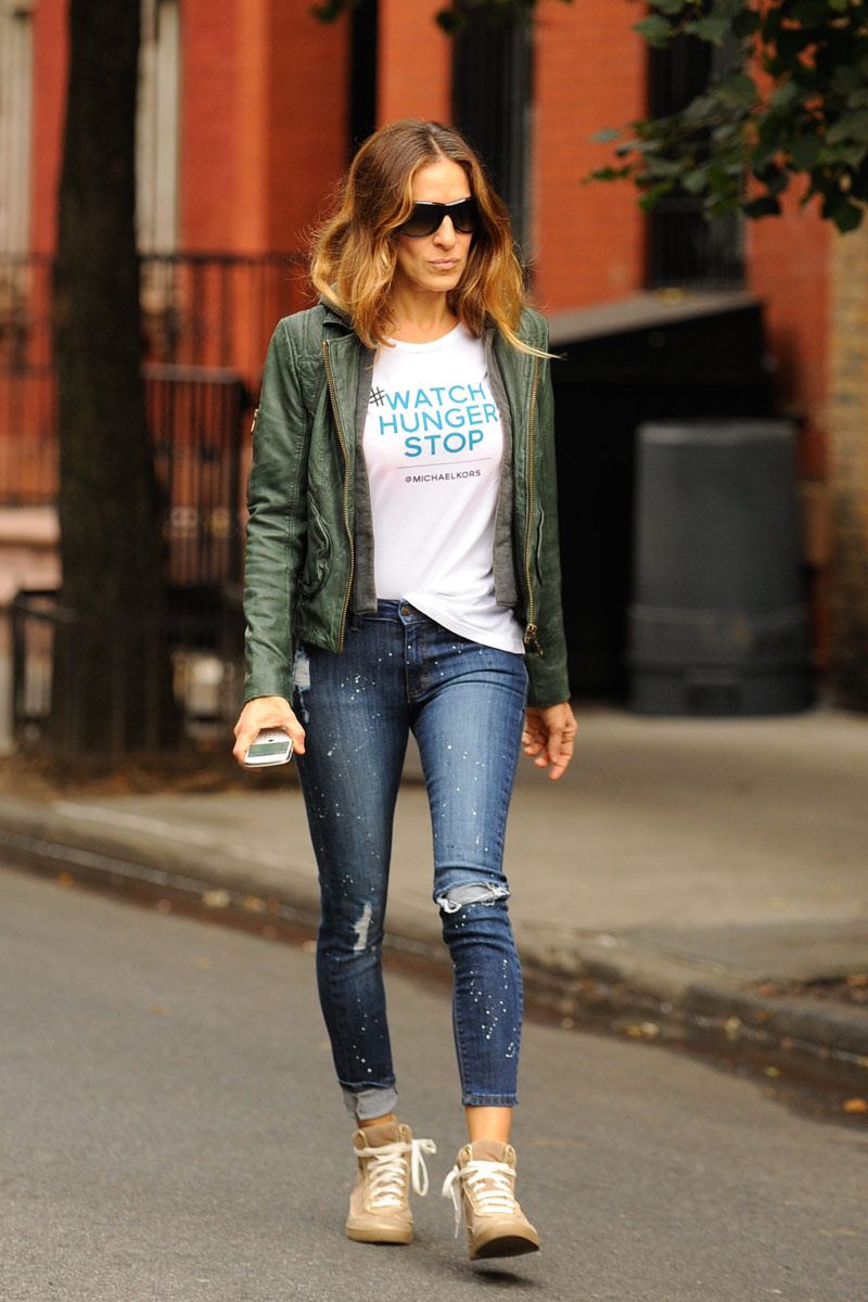 SJP Ripped Jeans