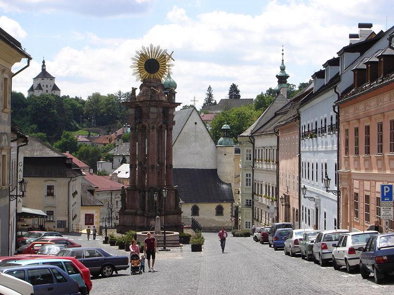 Banská Štiavnica square