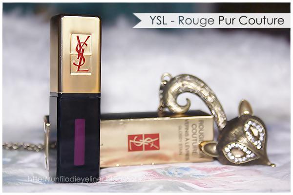 YSL Vernis à Lèvres - 01 Violet Edition