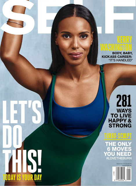 Actress @ Kerry Washington - Self Magazine, September 2015