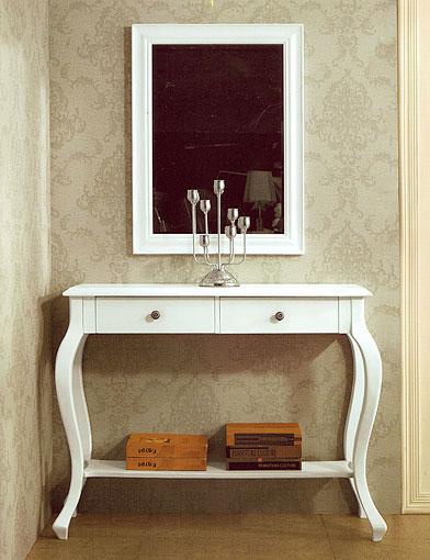 La web de la decoracion y el mueble en la red mueble - Mueble recibidor blanco ...