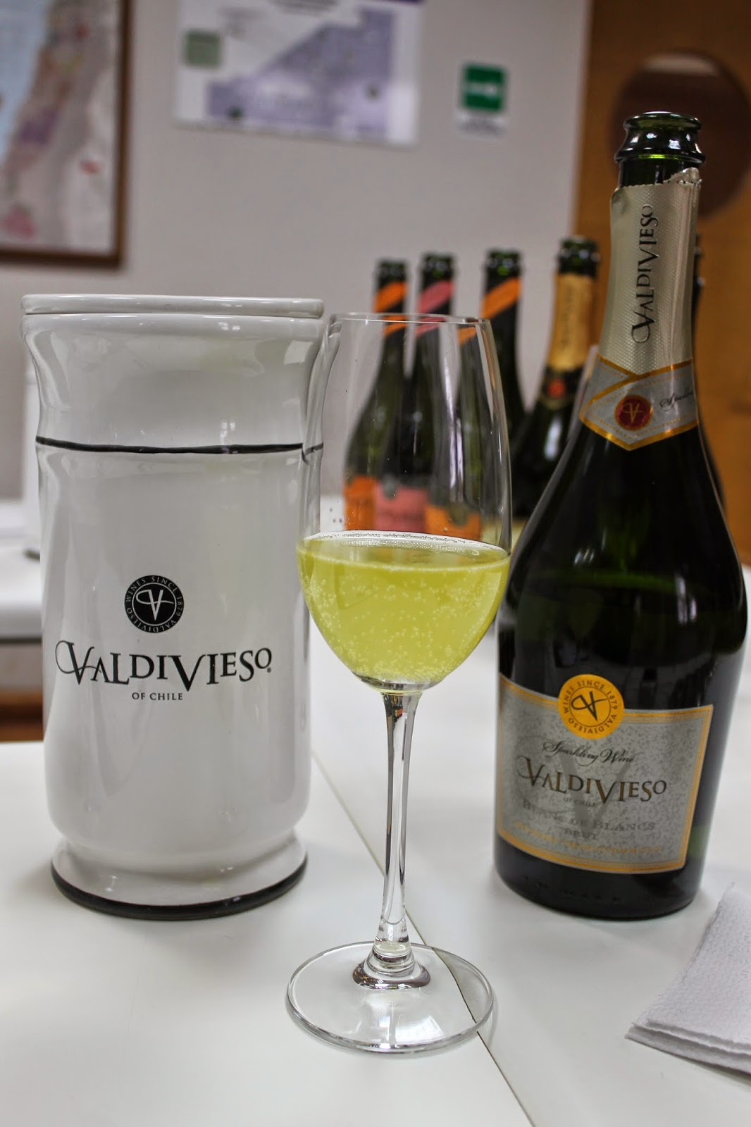 Chilean sparkling wine
