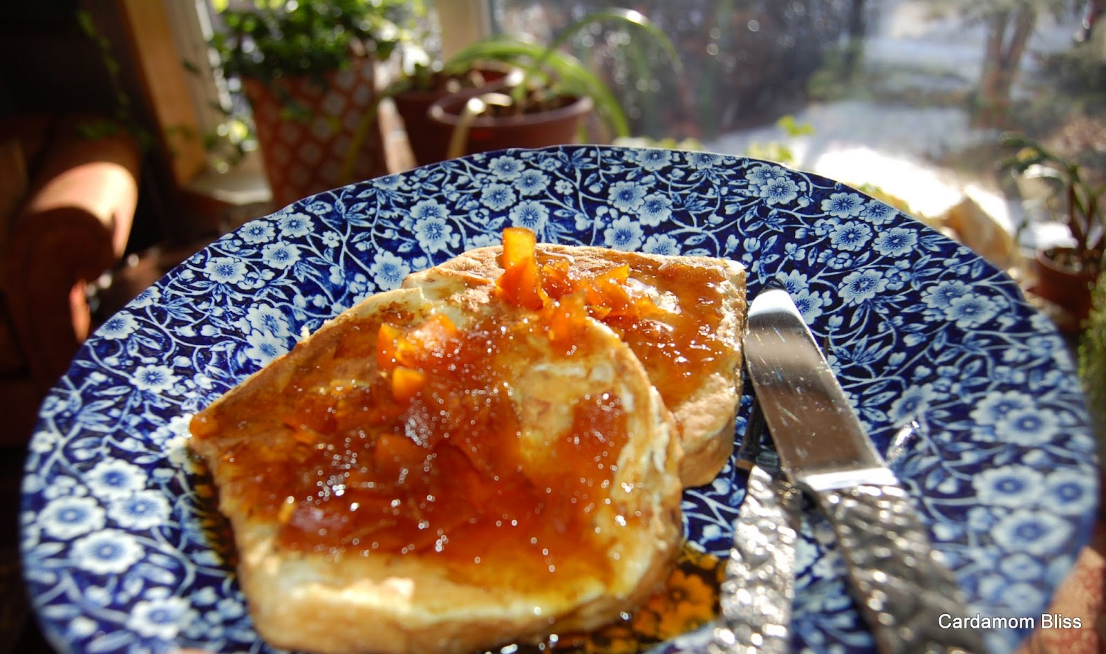French toast with Seville Marmalade