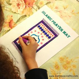 prayer mat crafts Ramadan Islamic Muslim