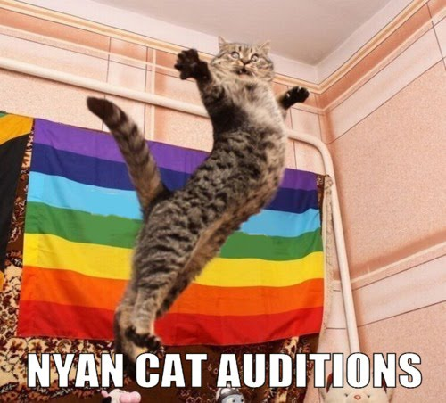 Nyan Cat Auditions - I'm Fabulous Meow !