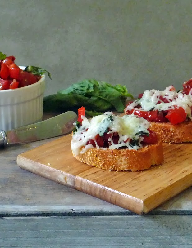 Double Tomato Bruschetta | Life Tastes Good