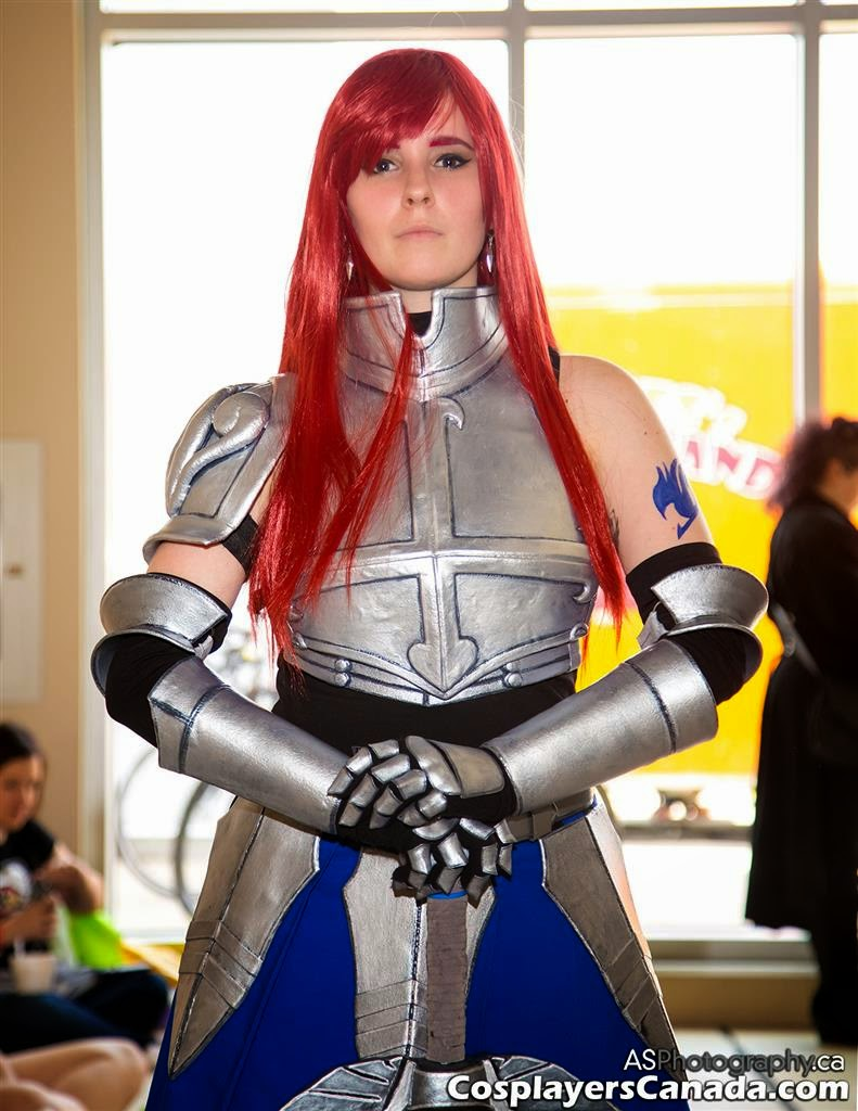 Titania Erza Scarlet From Fairy Tail At Ottawa Comic Con 2014