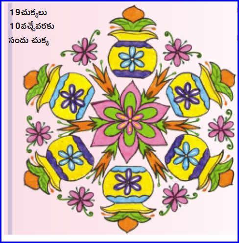 Sankranthi Festival Kolams Rangavalli Rangoli Muggulu Special