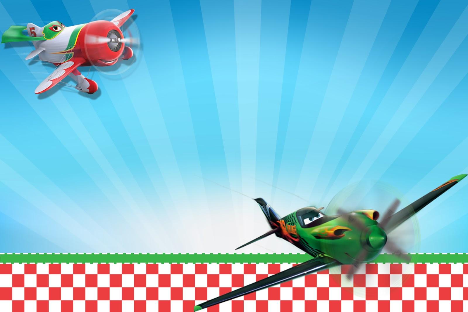 Aviões da Disney (Planes) - Mini Kit com molduras para ...