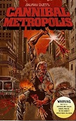 Cannibal Metropolis book cover