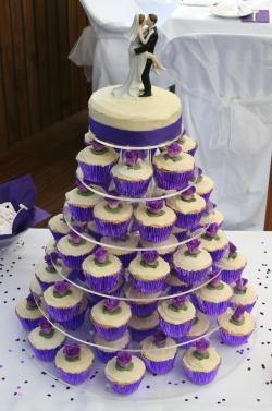 Wedding Cupcake Tower Ideas