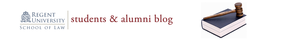 Regent Law Students & Alumni Blog