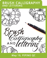 BRUSH CALLIGRAPHY & LETTERING
