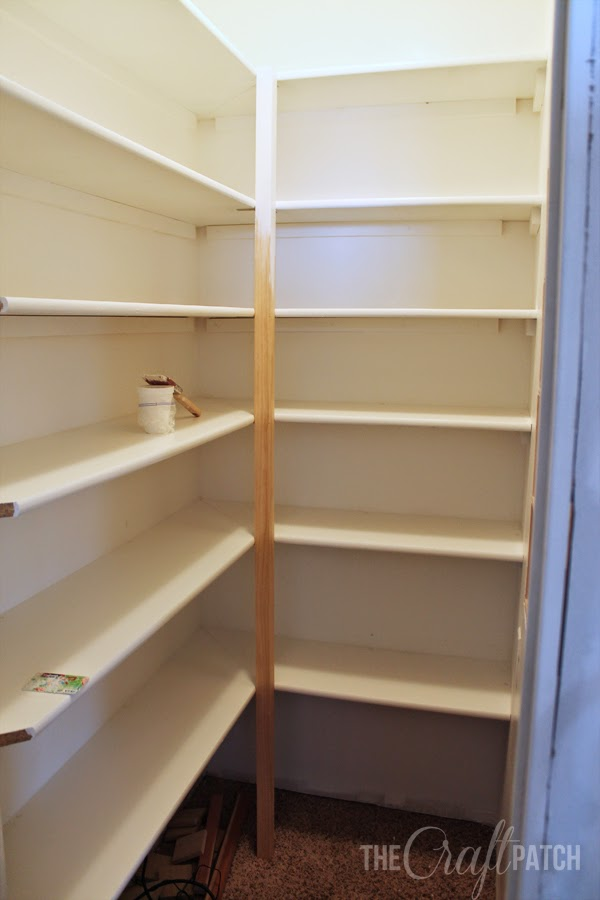 How To Build Pantry Shelving The Craft Patch