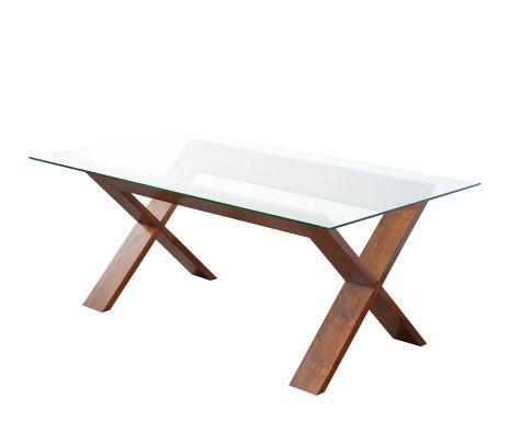 Decor me artisan la calidez de la madera en westwing for Mesa cristal y patas madera