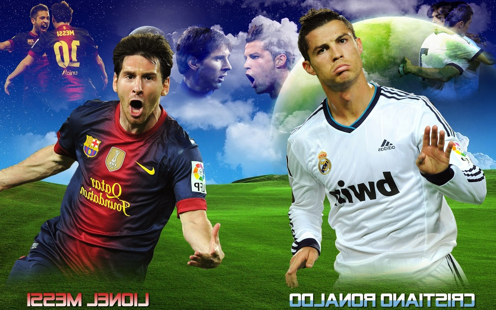 ronaldo vs messi Experts compare football stars cristiano ronaldo and lionel messi - their  upbringing, progression into the world of sports, skills talent, influence and.